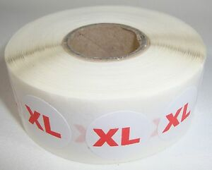 1000 Xl Size Self adhesive Labels 3 4 Stickers Tags Retail Store Supplies