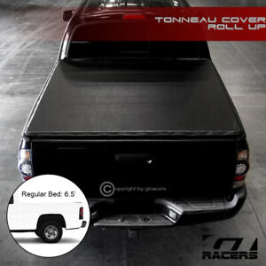 For 1994 2002 Dodge Ram Pickup 6 5 Ft Truck Bed Lock Roll Soft Tonneau Cover