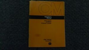 John Deere 450c Crawler Bulldozer Loader Operator Maintenance Manual Omt50942
