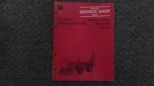 John Deere Jd 300 Backhoe Loader Owner Operator Maintenance Manual Omt37232