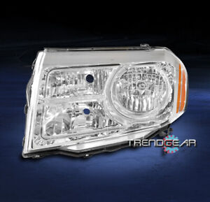 For 2012 2013 2014 2015 Honda Pilot Halogen Headlight Lamp Driver Left Lh Side