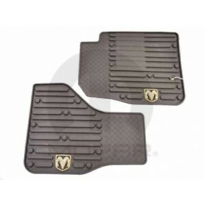 Dodge Ram Rams Head Logo Front Slush Mats 82213403