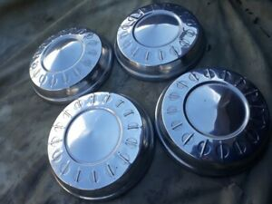 1960 S 70 S Dodge Plymouth Dog Dish Hubcaps
