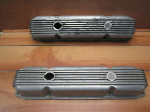 Cal Custom Big Block Mopar Aluminum Valve Covers 361 383 440 Dodge Plymouth