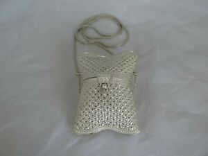 Incredible Sterling Silver Wedding Purse