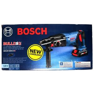 Bosch Gbh18v 26dk15 18v 1in Cordless Sds plus Bulldog Rotary Hammer Kit