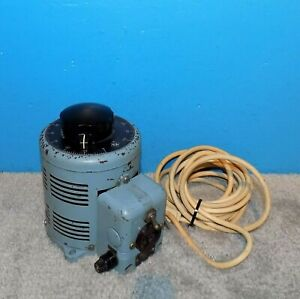 Superior Powerstat 2pf117 0 120v Variable Transformer Variac 10 Amps Free Ship