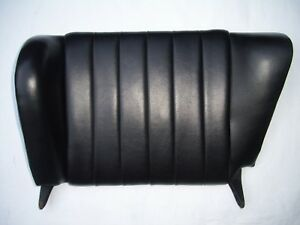 Porsche 912 911 Rear Seat Back Black Leatherette Driver Side Nice