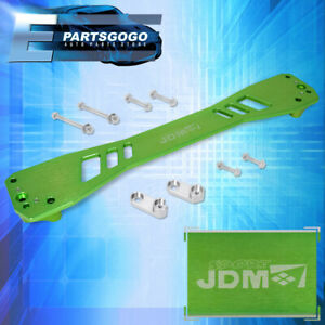 Jdm Sport For 96 00 Honda Civic Em1 Ej Rear Lower Subframe Brace Bar Rail Green