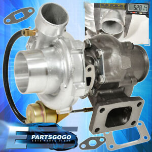 T3 t4 Turbo Charger 350 Hp 2 5 V band With Internal Wastegate For Dsm 8psi