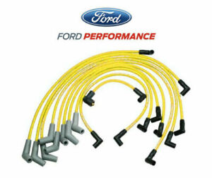 5 0l 5 8l Mustang Ford Racing M 12259 y301 Spark Plug Ignition Wire Sets yellow