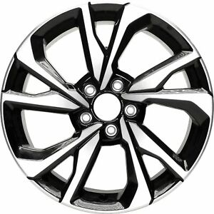 New Aluminum Alloy Wheel Rim 18 Inch Fits 2017 2018 Honda Civic 5 Lug 114 3mm