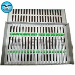 Rhoton Micro Dissector Expanded 20 Pcs Set Of Stainless Steel With Steel Case