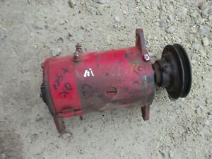 Farmall M Mv H Hv Ih Tractor Original Working 6v Generator