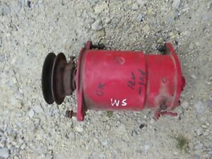 Farmall Super M Super H Ih Tractor Original Working 12v Generator