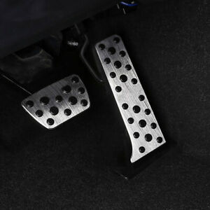 2x Stainless Car Accelerator Pedal Cover Trim For Toyota Camry 2018 20 Parts Us