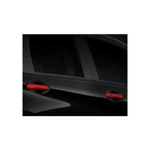 2015 2018 Nissan Versa Red Front Door Handle Covers W o I key