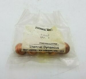 5 Pack Thermal Arc 9 6013 Tip Plasma Cutting Welding Equipment Replacement Nos
