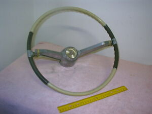 1963 1964 Cadillac Steering Wheel With Chrome Horn Ring Nice 4 20