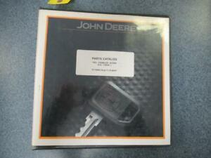 John Deere 700j Crawler Dozer Parts Catalog Binder Book Stock 10d
