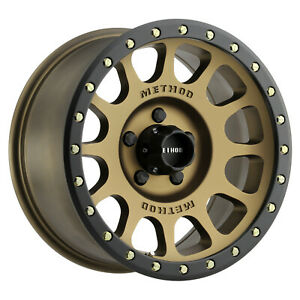 17 Bronze Method Mr305 Nv Wheels 285 70r17 Bfg Ko2 Tires 5x5 5 Dodge Ram 1500