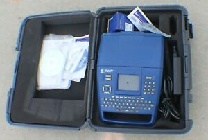 Brady Bmp71 Label Thermal Printer In Case With Ac Adapter