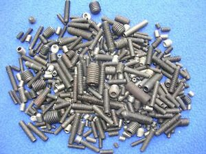 1 1 2 Pounds Mixed Lot Set Screws Repair Replacement Industrial Automotive