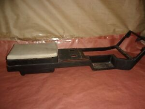 82 84 Firebird Trans Am Ta Center Console Top Shell With Lid Used