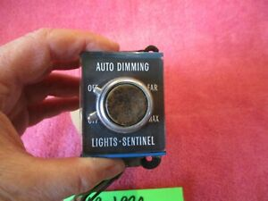 1969 1970 Cadillac Fleetwood Deville Gm Oem Headlight Switch Dimming Sentinenel