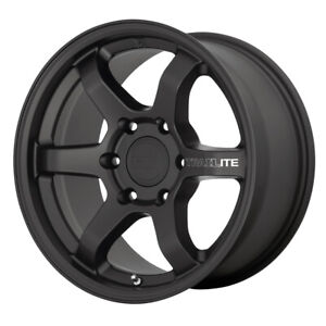 4 motegi Mr150 Trailite 17x8 5 6x4 5 18mm Satin Black Wheels Rims 17 Inch