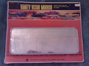 Vintage Hollywood Accessories Vanity Visor Mirror No 832c
