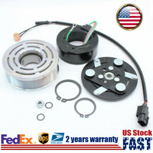 Car A c Air Compressor Clutch Assembly Kit Pulley For Honda Civic 1 8l 2006 2011