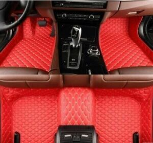 Fit For Chevrolet Camaro 2010 2021 Leather Car Floor Mats Waterproof Mat