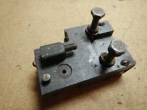 Mount Bracket Possible Trav a dial Travadial Indicator Fixture Machinist Tool