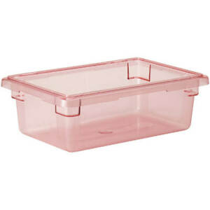 Cambro 3 0 Gal Food Storage Boxes Camwear 6pk Safety Red 12186cw 467