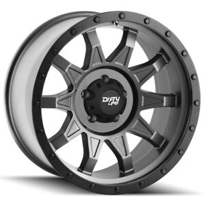 4 Cali Off Road 9301 Roadkill 18x9 5x150 12mm Gunmetal Wheels Rims 18 Inch