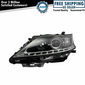 Halogen Headlight Lamp Assembly Lh Driver Side For Lexus Rx350 Rx450h