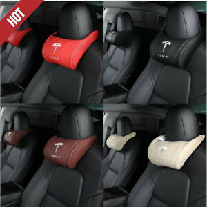 For Tesla Model 3 Y S X Car Seat Headrest Neck Pillow Cushion Neck Headrest 1pc