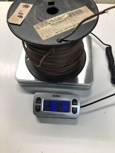 12 Thhn Stranded Wire Brown Partial Roll Approx 400 Ft 8 78 Lbs Total