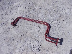 Farmall Super C Sc Rowcrop Tractor Ih Front Hydrualic Steel Lines
