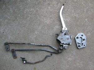 1960 S 70 S Chevy Corvette Camaro Hurst 4sp Shifter Assembly W Rods Plate