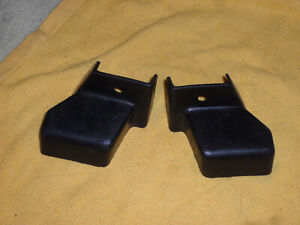 Set Of 81 98 Ford Mustang Front Seat Bolt Plastic Rear Trim Covers 93 85 95 87
