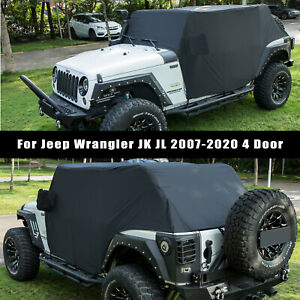 Cab Cover Car Cover All Weather Vehicle Cover For 2007 2020 Jeep Wrangler Jk Jl