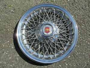 One Factory 1980 Chevy Impala 15 Inch Wire Spoke Hubcap Wheel Cover