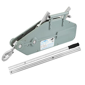 Lever Wire Rope Hoist 3 2t Rope Puller With Swivel Hook Forward Handle