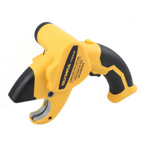 Durable Electric Cutter Pvc Shear Cordless With Charger Tough Fast Plumbing New