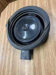73 74 75 Corvette Cowl Induction Dual Snorkel Air Cleaner Ring And Seal Oem