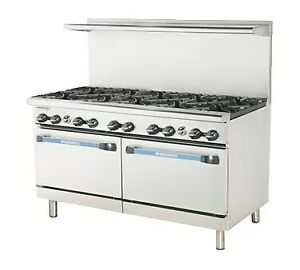 Used 60 Natural Gas Restaurant Range