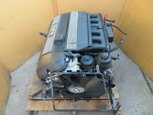 Bmw Z3 E36 1110 Engine Assembly M52 Inline 6 2 5l tested