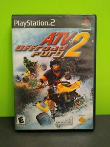 ATV Offroad Fury 2 (Sony PlayStation 2  2002) No Manual